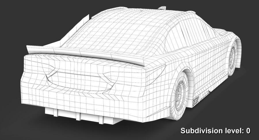 토요타 캠리 NASCAR 시즌 2018 royalty-free 3d model - Preview no. 14