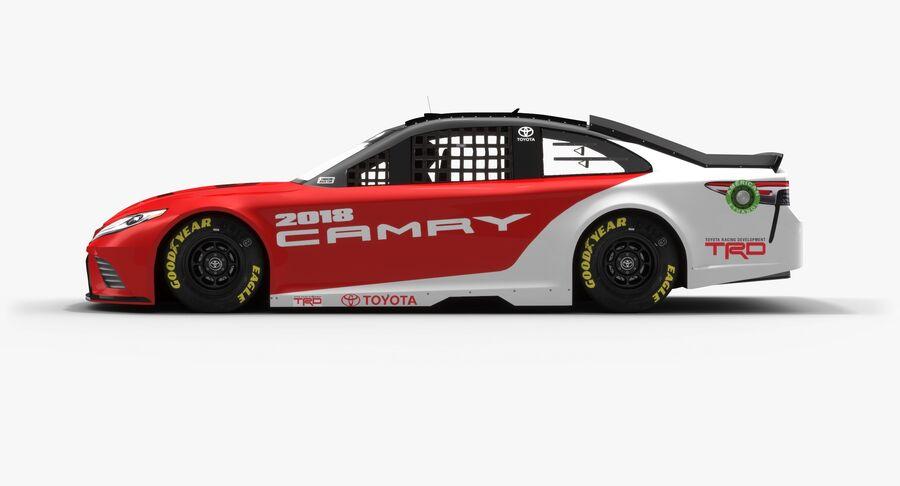 토요타 캠리 NASCAR 시즌 2018 royalty-free 3d model - Preview no. 6