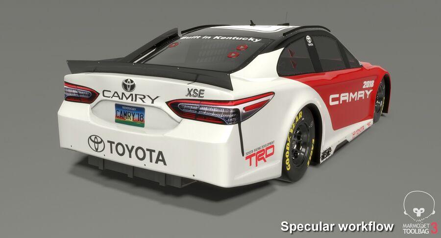토요타 캠리 NASCAR 시즌 2018 royalty-free 3d model - Preview no. 20