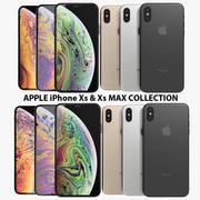 Coleção Apple iPhone Xs & Xs Max 3d model