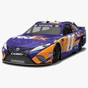 Joe Gibbs Racing # 11 Nascar Temporada 2018 modelo 3d
