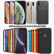 애플 아이폰 Xs & Xr 컬렉션 3d model