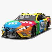 Joe Gibbs Racing # 18 NASCAR Temporada 2018 modelo 3d