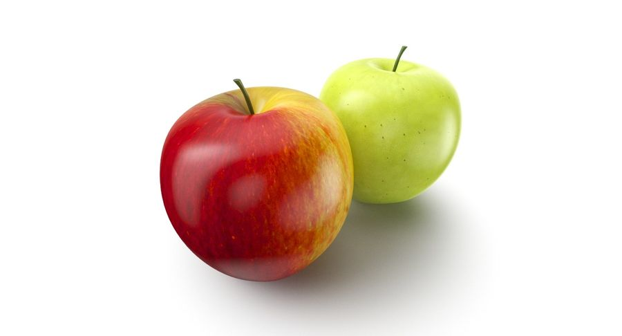 Frutta royalty-free 3d model - Preview no. 3
