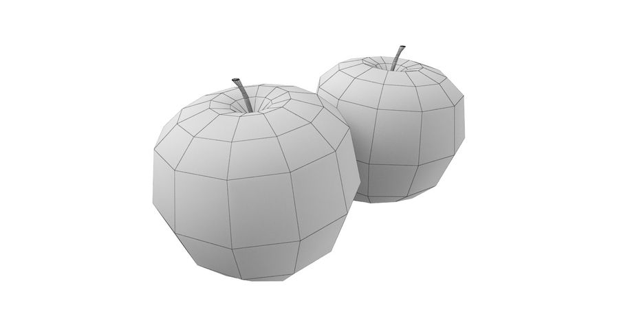 Fruits royalty-free 3d model - Preview no. 5