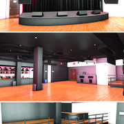 Night Club 3d model