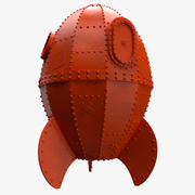Wallace e o foguete de Gromit 3d model
