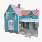 Model van het huis 3d model