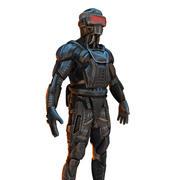 Framtida Ninja 3d model
