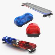 Collezione di modelli 3D Legacy Lightbars 2 3d model