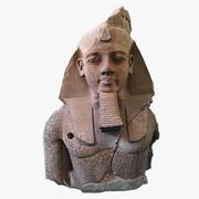 Król Ramzes II 3d model