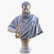 Saint Peter Basilica Bust 3d model