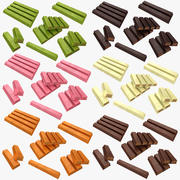 Kit Kat Collection 3d model