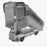 Airstair TLD ABS-580 Zadaszony 3d model