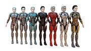 Cyborg Female HD PACK 3d model
