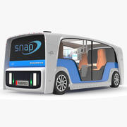 Rinspeed Snap总线 3d model