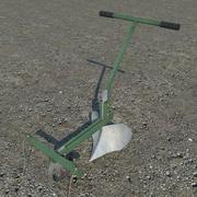 Handpflug 3d model