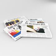Gazeta - edytowalna 3d model