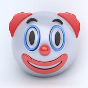 EMOJI clown 3d model