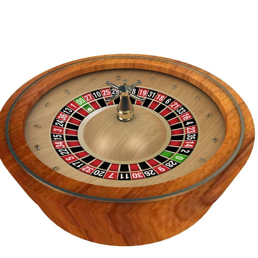 Casino Roulette Wheel 3d Modal 3d Model 8 Max Obj Fbx Dxf 3ds Free3d
