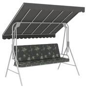 Garden bench swing 3d model