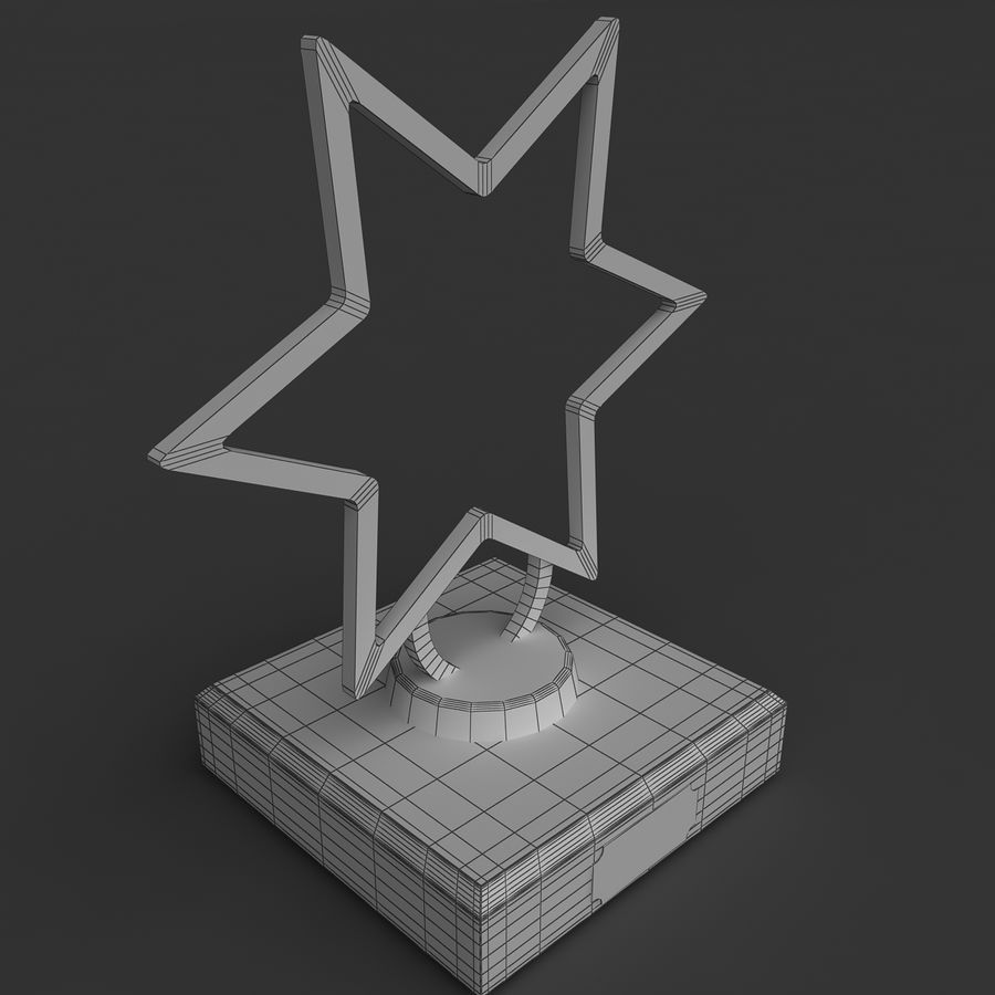 Trophy royalty-free 3d model - Preview no. 4