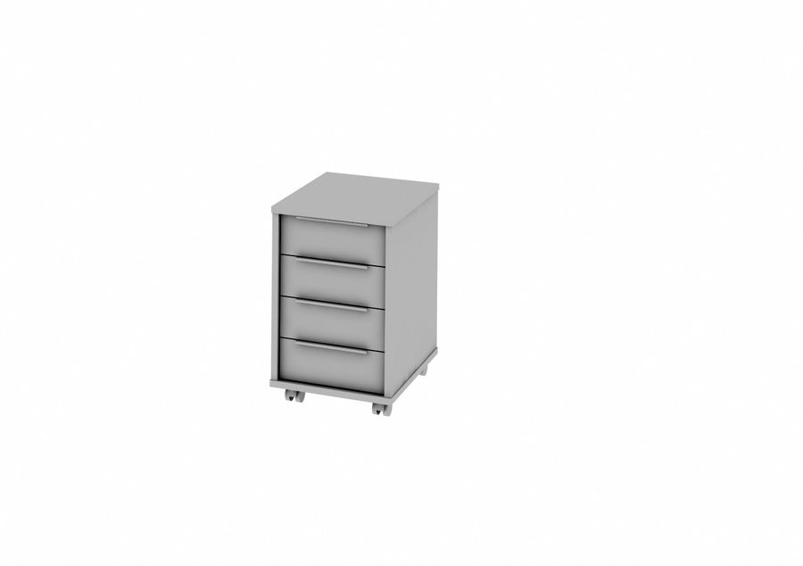 office furniture royalty-free 3d model - Preview no. 11
