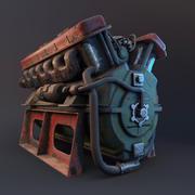 发动机 3d model