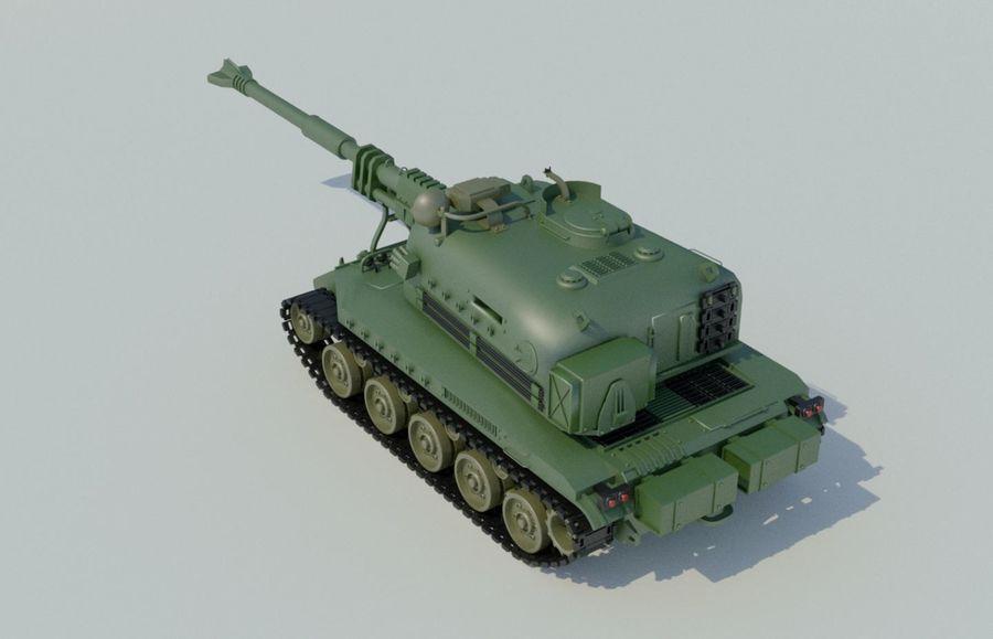 Artillery royalty-free 3d model - Preview no. 5