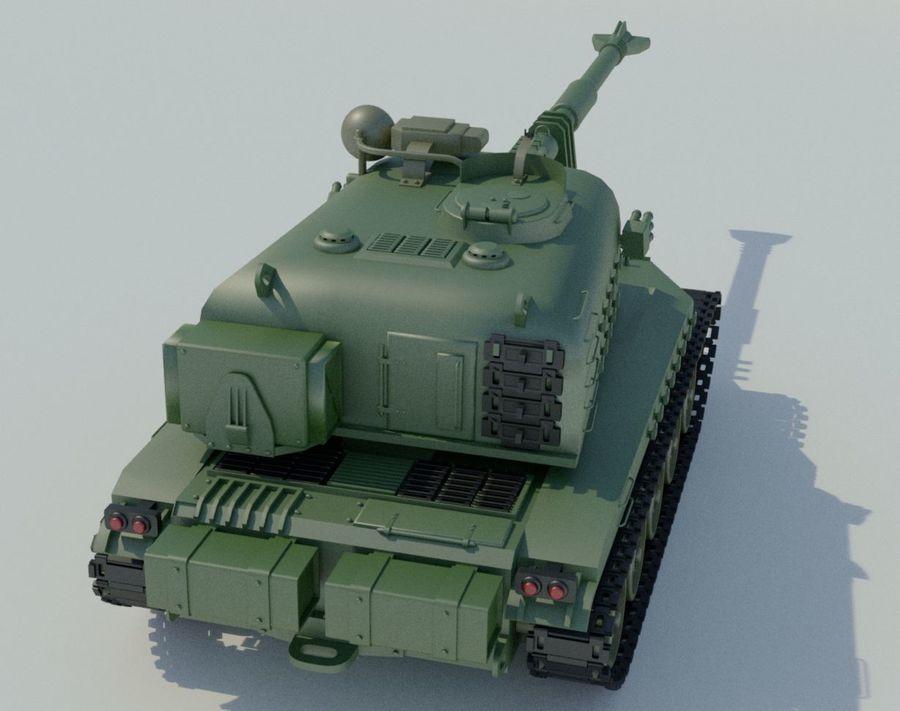 Artillery royalty-free 3d model - Preview no. 6