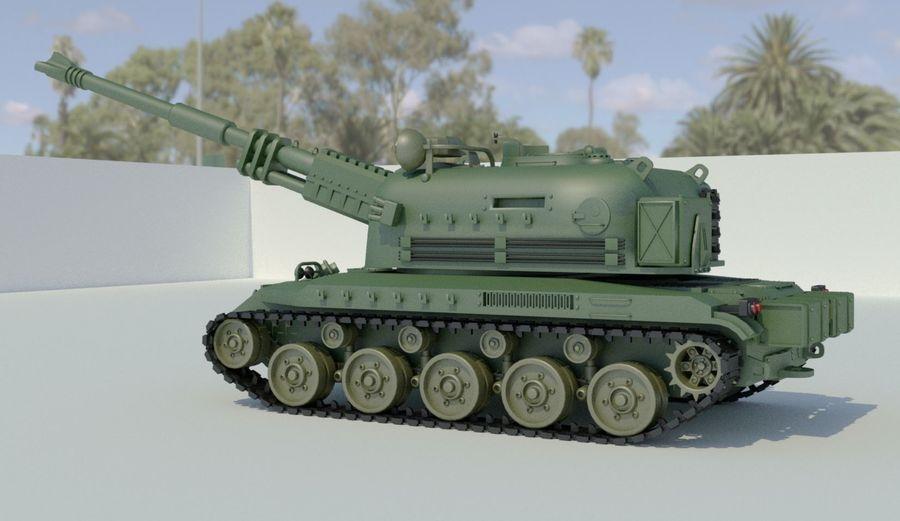 Artillery royalty-free 3d model - Preview no. 1