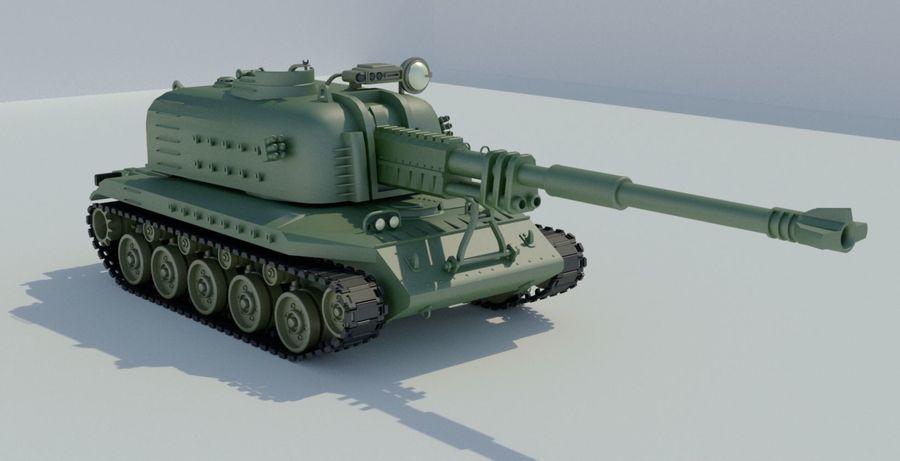 Artillery royalty-free 3d model - Preview no. 8