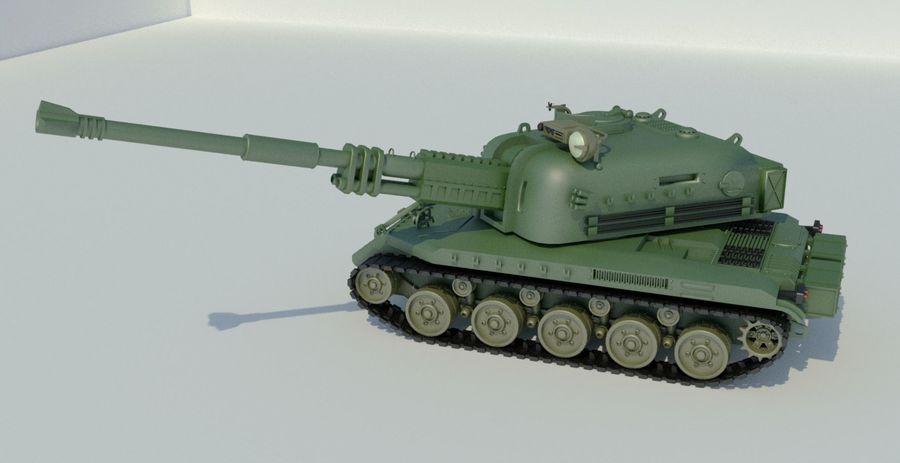 Artillery royalty-free 3d model - Preview no. 9