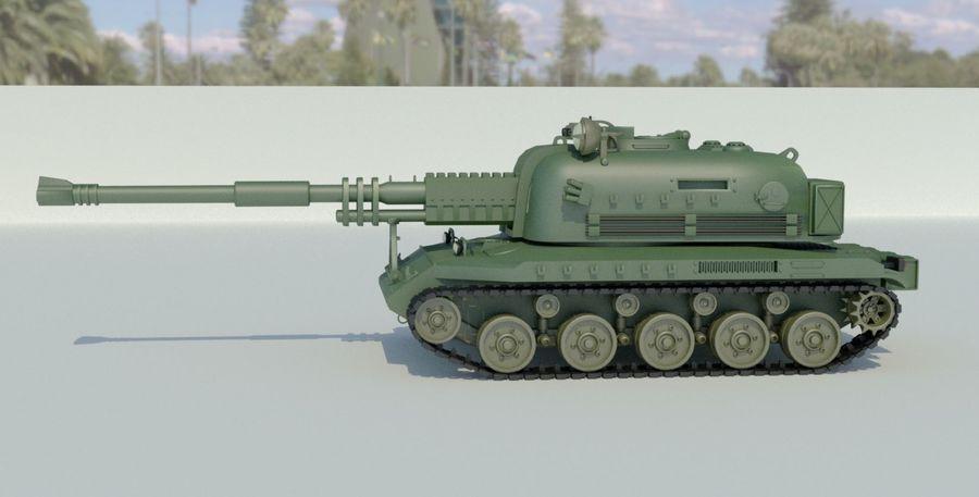 Artillery royalty-free 3d model - Preview no. 3