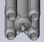 Ariane 6 Rocket - Detail Printable Scale Model 3d model