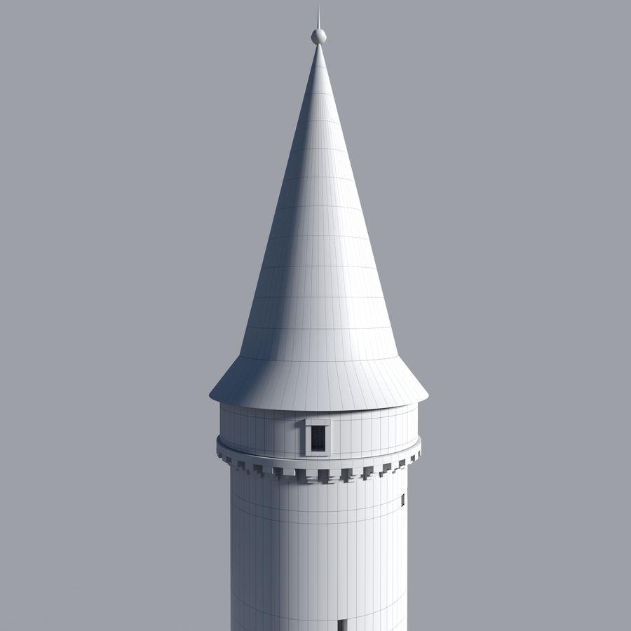 城堡塔 royalty-free 3d model - Preview no. 8