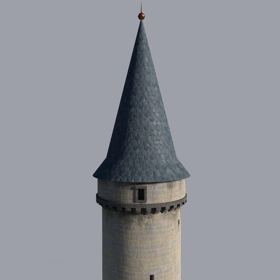 城堡塔 royalty-free 3d model - Preview no. 7