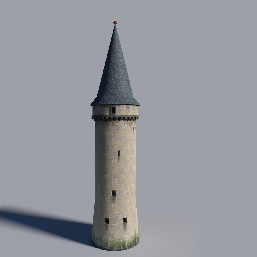 城堡塔 royalty-free 3d model - Preview no. 1