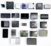 게임 콘솔 컬렉션 (저 폴리) 3d model