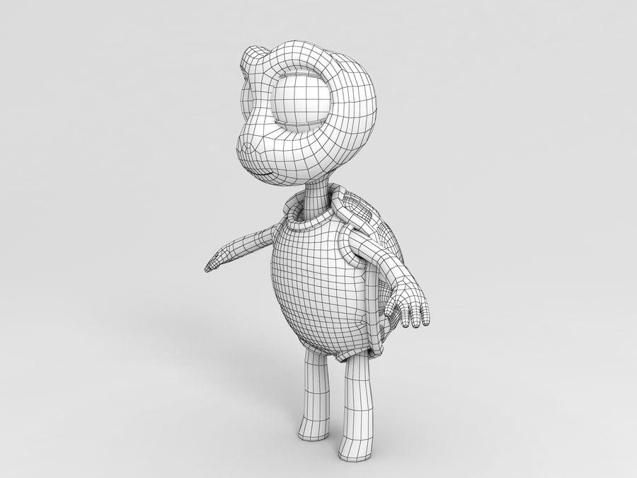 żółw royalty-free 3d model - Preview no. 6