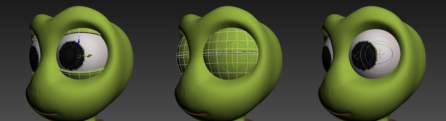 żółw royalty-free 3d model - Preview no. 16