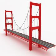 ゴールデンゲートブリッジ 3d model