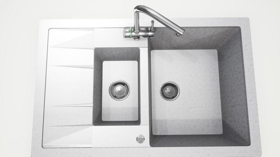 Lavello e rubinetto UE4 royalty-free 3d model - Preview no. 4
