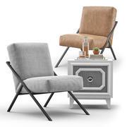 Bowery Chair - Keystone Designer 3d model