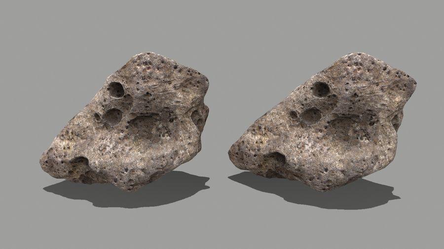 conjunto de asteroides royalty-free modelo 3d - Preview no. 20