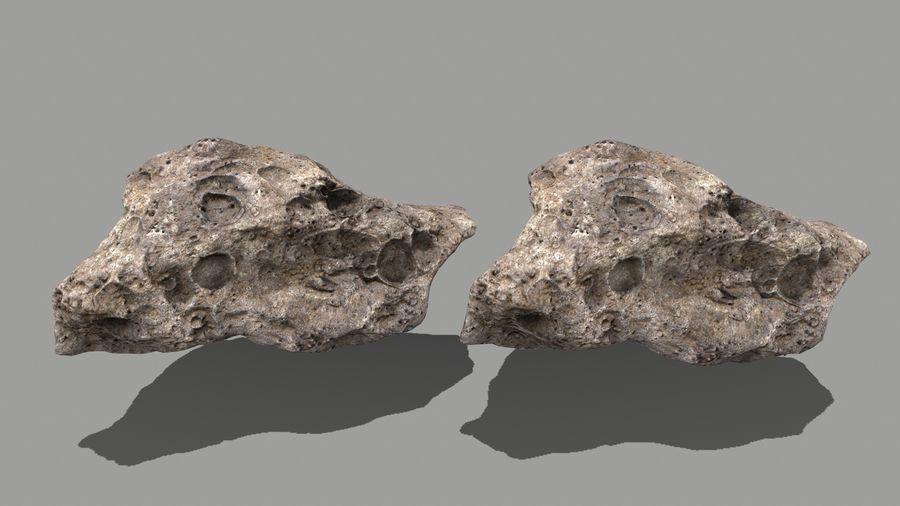 conjunto de asteroides royalty-free modelo 3d - Preview no. 7