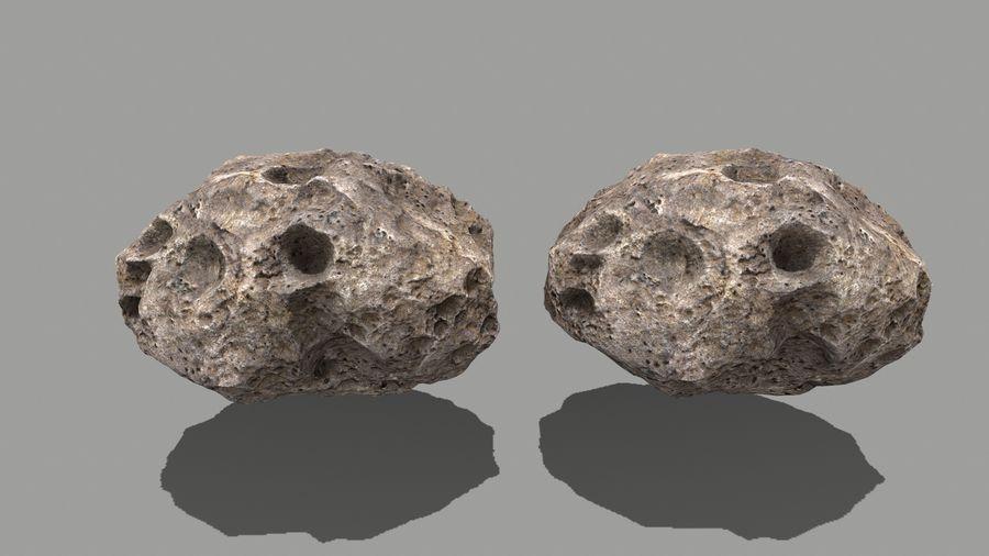 conjunto de asteroides royalty-free modelo 3d - Preview no. 23
