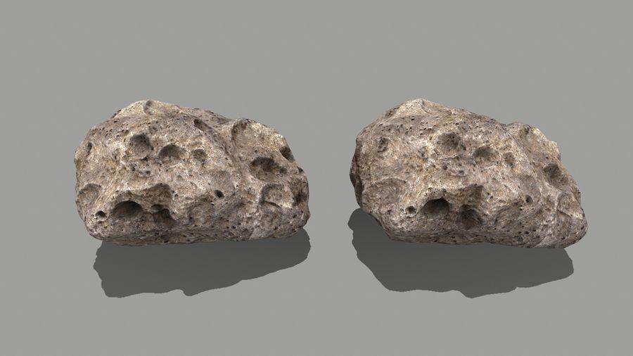 conjunto de asteroides royalty-free modelo 3d - Preview no. 27