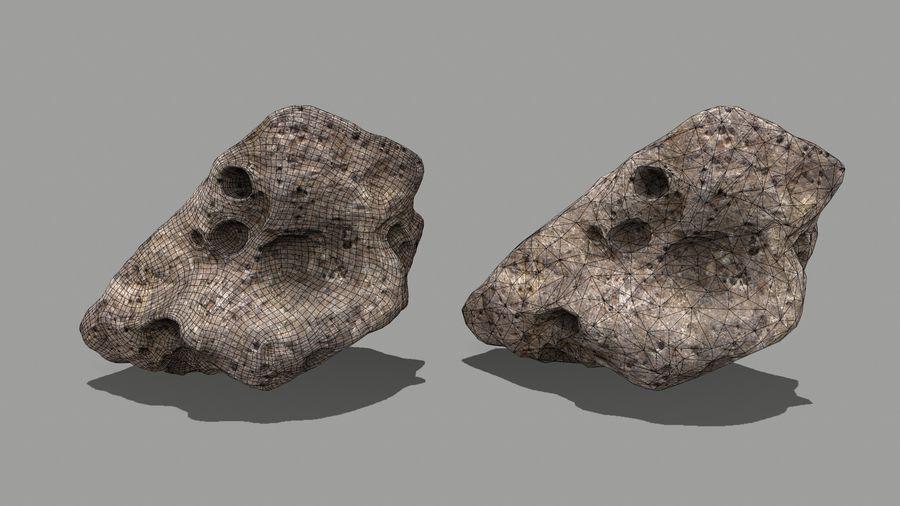 conjunto de asteroides royalty-free modelo 3d - Preview no. 19