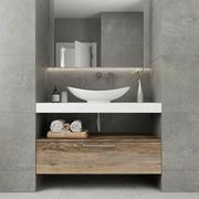 Meubilair en inrichting voor badkamers 7 3d model